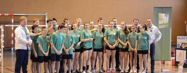 Les 7 et 8 février 2015, le comité Drôme Ardèche de badminton, avec l'appui du Badminton Club de Châteauneuf-Sur-Isère (BCCI), a accueilli la phase de qualification du Championnat de France […]