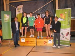 Julien Remaud médaille d'or en double mixte