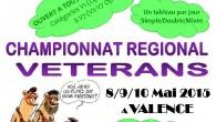 Le 8, 9 et 10 mai, le Badminton Club de Valence (BCV 26) organisera la première édition du Championnat Régional Vétérans en Rhône-Alpes au Palais des Sports Pierre Mendès France […]