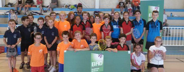 Après une phase test la saison dernière, le Comité Drôme Ardèche de badminton a pu organiser ses premiers interclubs jeunes à visée promotionnelle avec l'appui du Badminton Club de l'Hermitage […]