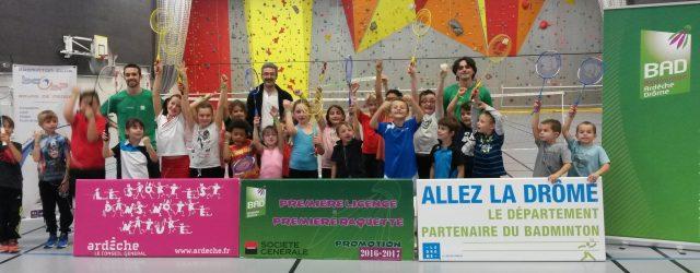 Le lundi 24 octobre, le comité Drôme Ardèche de badminton a accueilli, pour la 5e année consécutive, son opération première licence – première raquette avec l'appui du Badminton Club de […]