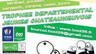 Le samedi 7 janvier, le Badminton Club de Châteauneuf-Sur-Isère (BCCI) organise un TDJ de simples. Il est ouvert à tous les jeunes des clubs affiliés de Drôme Ardèche des catégories […]