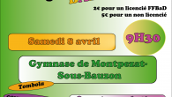Le comité organise un Badbacool en partenariat avec le Vivarais Badminton (VB 07). Il aura lieu le samedi 8 avril de 9h30 à 13H30 au gymnase de Montpezat-Sous-Bauzon (juste à […]