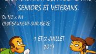 Bonjour à tous,  Les inscriptions pour la première édition du Championnat Départemental Seniors et Vétérans sont lancées. Venez faire la fête avec nous en vous inscrivant : Fiche_inscription_CDSV2017 plaquette […]