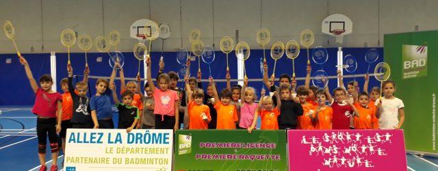 Le lundi 30 octobre était l'occasion de remettre à tous les licenciés de moins de 10 ans, prenant pour la première année une licence à la Fédération Française de badminton, […]
