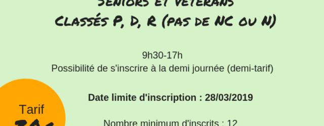 Le Comité organise un second stage pour les Séniors et Vétérans licenciés dans les clubs FFBaD drômardéchois Il aura lieu le Dimanche 7 avril 2019 à Valence Retrouvez toutes les […]