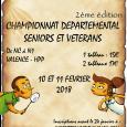 Vous aviez déjà bloqué la date pour cette 2e édition du Championnat Départemental Seniors et Vétérans ? Le 10 et 11 février à la Halle Polyvalente du Polygone à Valence […]