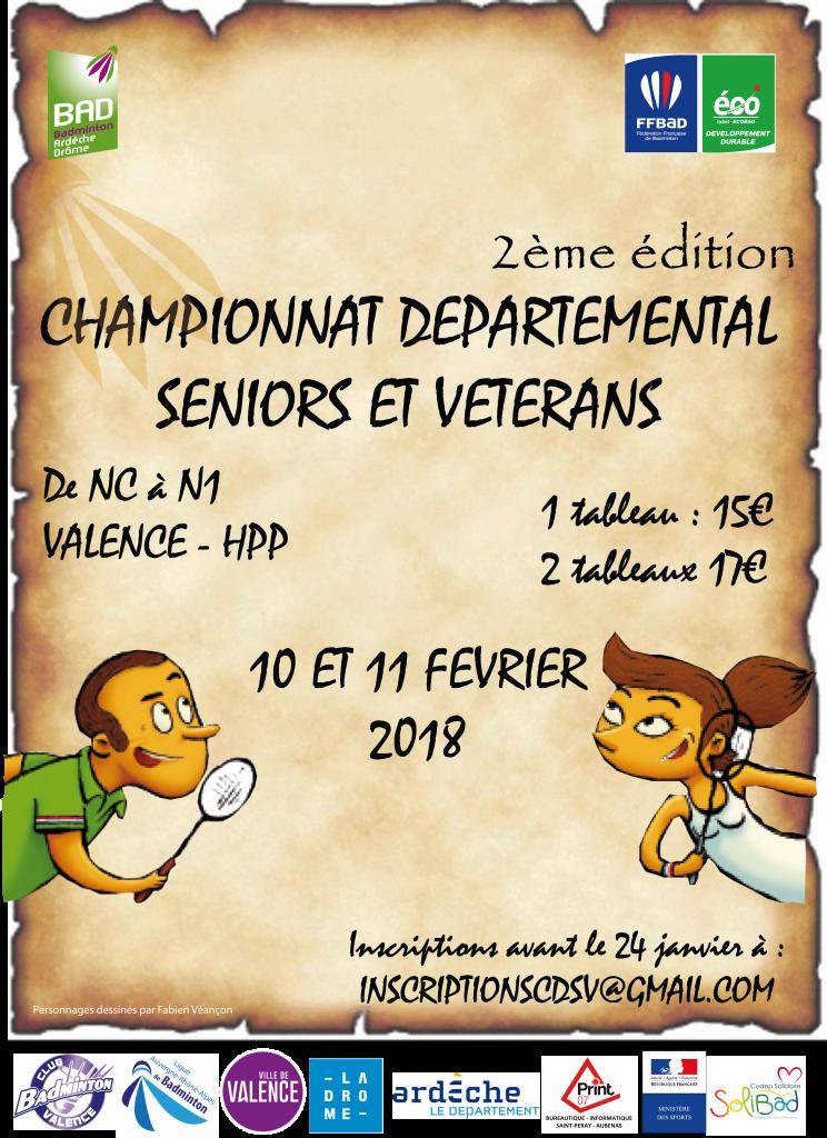 affiche CDSV 2e édition