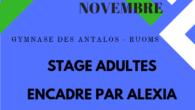Le premier stage adultes du comité de la saison aura lieu à Ruoms, au gymnase des Antalots. Il est ouvert à tous les adultes de Drômardèche NC, P, D et […]