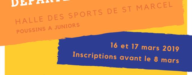 Nous vous communiquons les documents d'inscription pour le Championnat Départemental Jeunes qui aura lieu les 16 et 17 mars 2019 à St Marcel-Les-Valence. Fiche inscription Plaquette Règlement particulier Attention, la […]