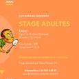 Le comité vous propose un stage adultes de 2 jours à Guilherand-Granges, encadré par Alexia Peraud. Nous testons, pour la première fois, une formule sur 2 jours avec une séance […]
