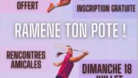 Le Comité vous propose un événement sous forme de tournoi mixte (dans son sens large du terme) le 18 juillet 2021 à Montélimar. Au programme:Matinée matchs avec «ton ou ta […]